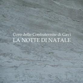 Copertina Coro Confraternite Gavi - La notte di Natale (font book antiqua)